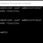 ABILITARE ADMINISTRATOR SU WINDOWS 10 HOME